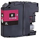 Farebný cartridge BROTHER LC-125 XL MAGENTA