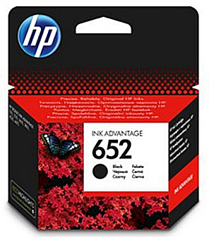 Originálny cartridge HP 652 BLACK