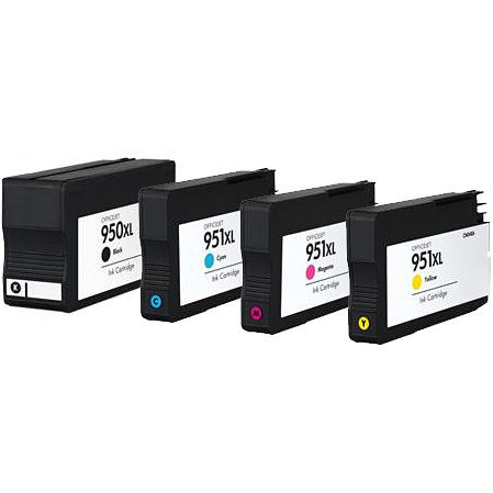 Sada - kompatibilné cartridge HP 950 XL, 951 XL (BK, C, M, Y)