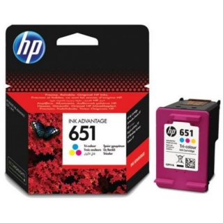 Originálny cartridge HP 651 COLOR