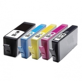 Sada - kompatibilné cartridge HP 364 XL BK, C, M, Y, photoBK
